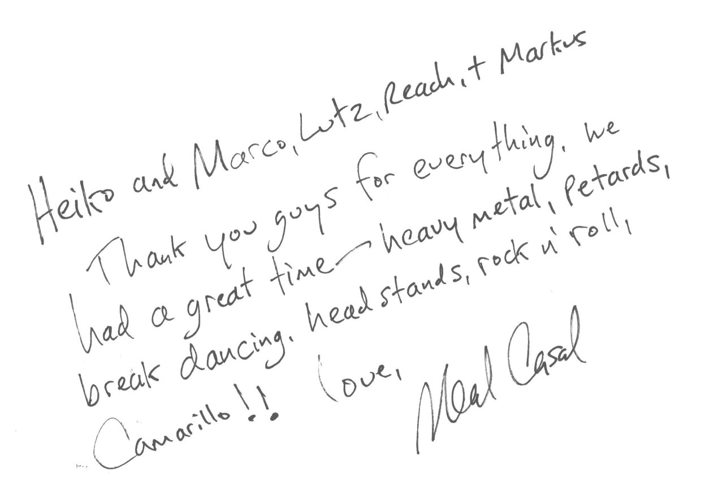 Neal Casal verstorben: † 27. August 2019